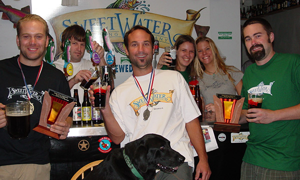 SweetWater 2002 - Small Brewery of the Year at GABF